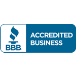 Proud to be an Accredited Business with the Better Business Bureau.