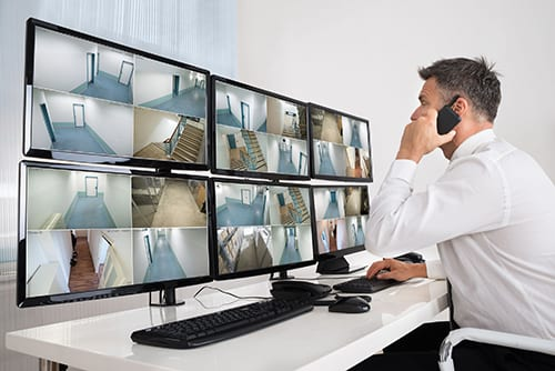 Surveillance Camera: Call us today to set up your own custom security camera system!